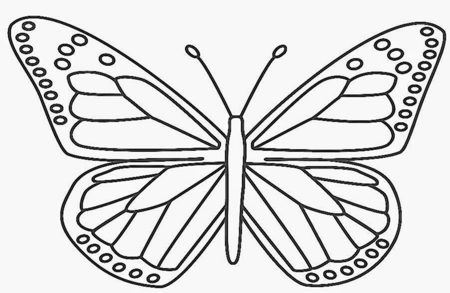 Monarch Butterfly Coloring Page   AZ Coloring Pages