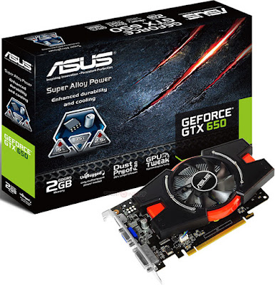 Nvidia GeForce GTX 650フルドライバーのダウンロード
