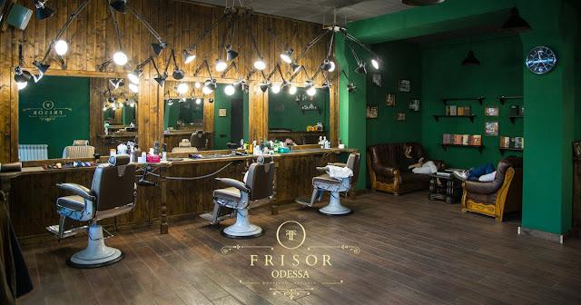 Frisor Barbershop Odesa внутри