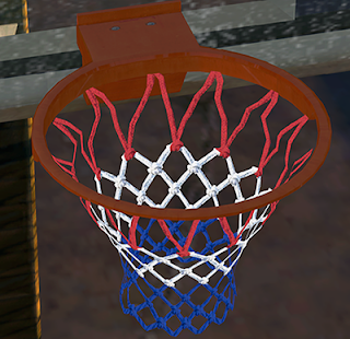 NBA 2K14 Red/White/Blue Net Mod