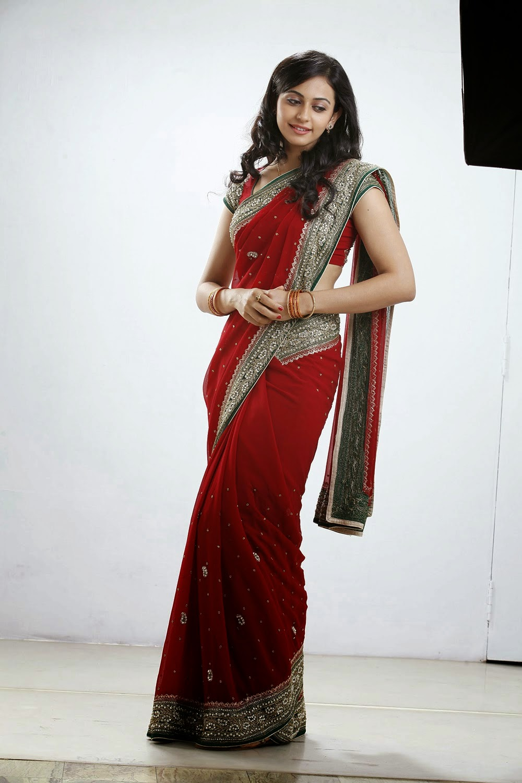 Cute Trendy Wallpapers Rakul Preet Singh Hot Saree Stills Latest Movie Updates