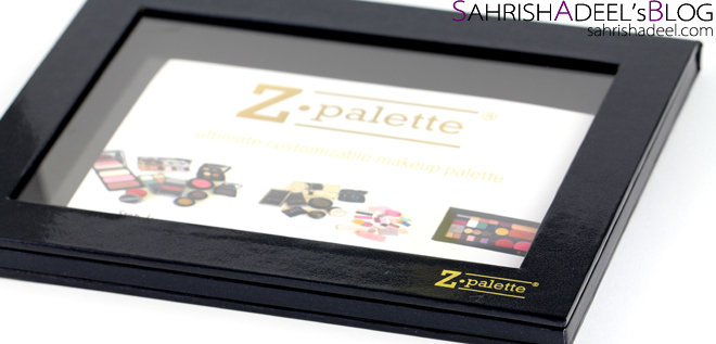Z Palette Extra Large in Black - Review