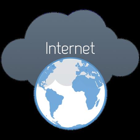 تعبير وموضوع عن فوائد واضرار الانترنت بالانجليزي