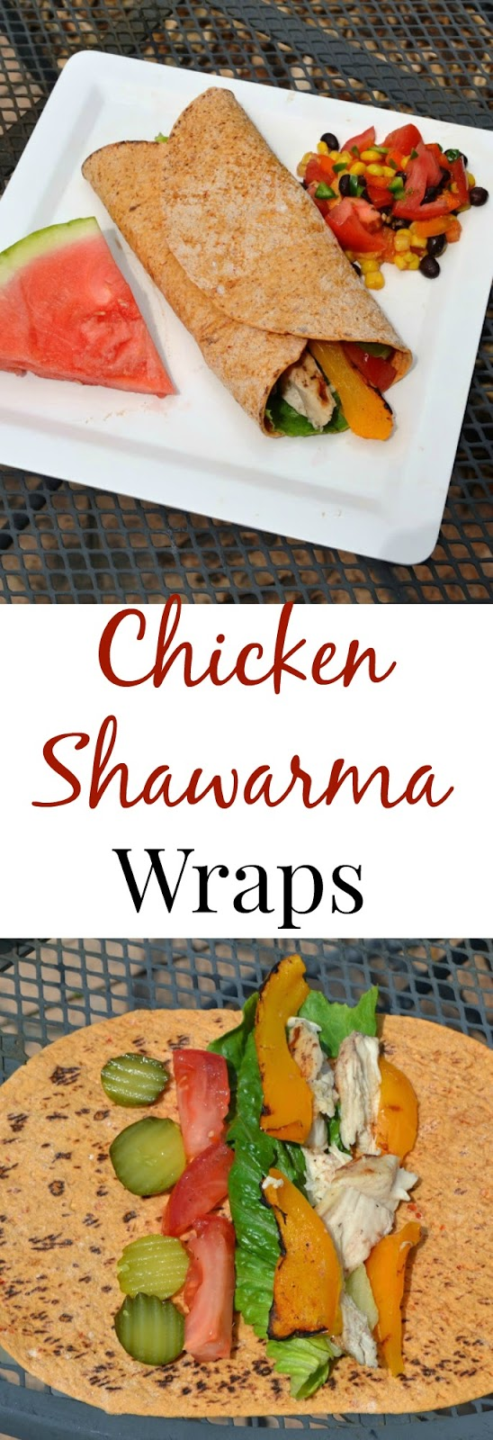 These Chicken Shawarma Wraps are healthier than what you find at your local restaurant but still are packed with delicious flavor! www.nutritionistreviews.com