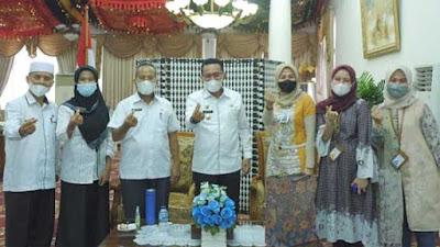 Bupati Ajak Bank Syariah Indonesia Ikut Bangun Tanah Datar