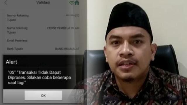 Rekening FPI Berisi Puluhan Juta Diblokir, Aziz: Kalau Soal Duit Cepet Digarong