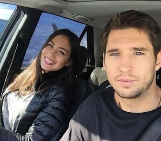 Dusan Lajovic And His Beautifull Girlfriend Lidija Mikic