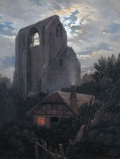 a Carl Gustav Carus painting