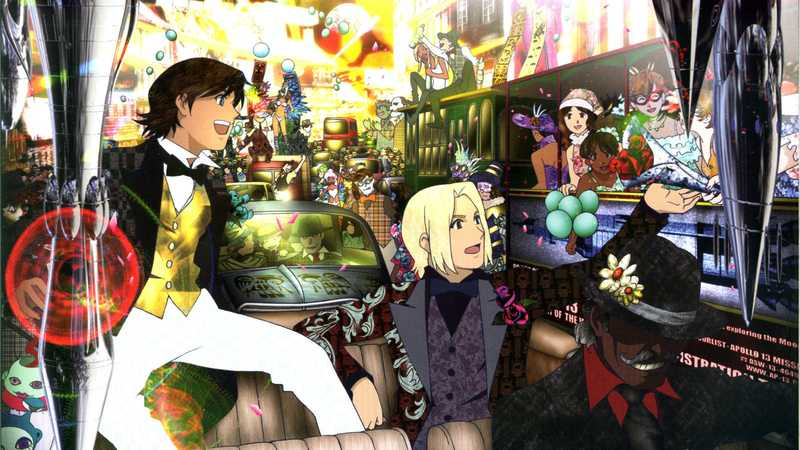 Anime mirip 91 Days — Gankutsuou