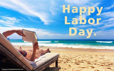 Happy Labor Day At Beach
