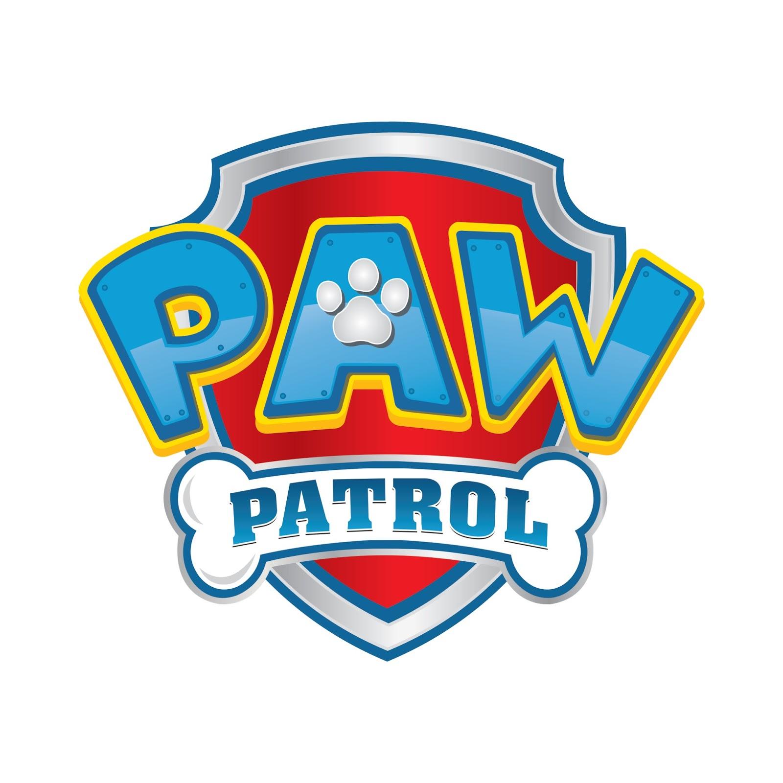 Paw Patrol Logo Vector Silhouette