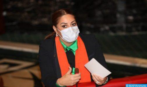 السيدة بوشارب.. برنامج مدن بدون صفيح يستهدف إعادة إسكان حوالي 22 ألف أسرة بعمالة الصخيرات تمارة