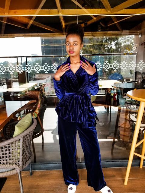 Chic Way To Wear Velvet: Women's Suits
