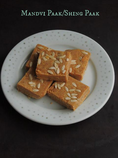 Mandvi Paak, Peanut Burfi, Shing Paak
