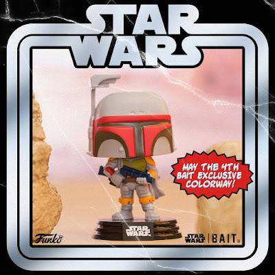 BAIT Star Wars Day Exclusive Boba Fett Vintage Edition Star Wars Pop! Vinyl Figure by Funko