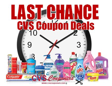 CVS Last Chance Coupon Deals
