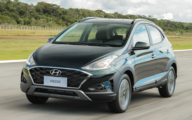 Novo Hyundai HB20X 2020