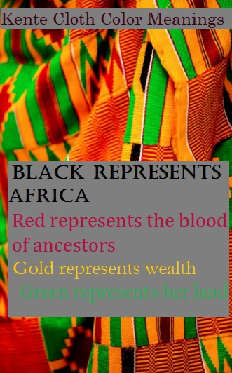 Kente Cloth Color Meanings