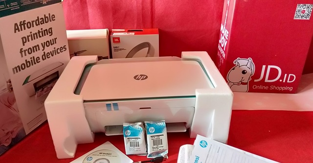 Printer Wifi HP DeskJet 2623 Multifungsi JD.ID - ALHIDAMART