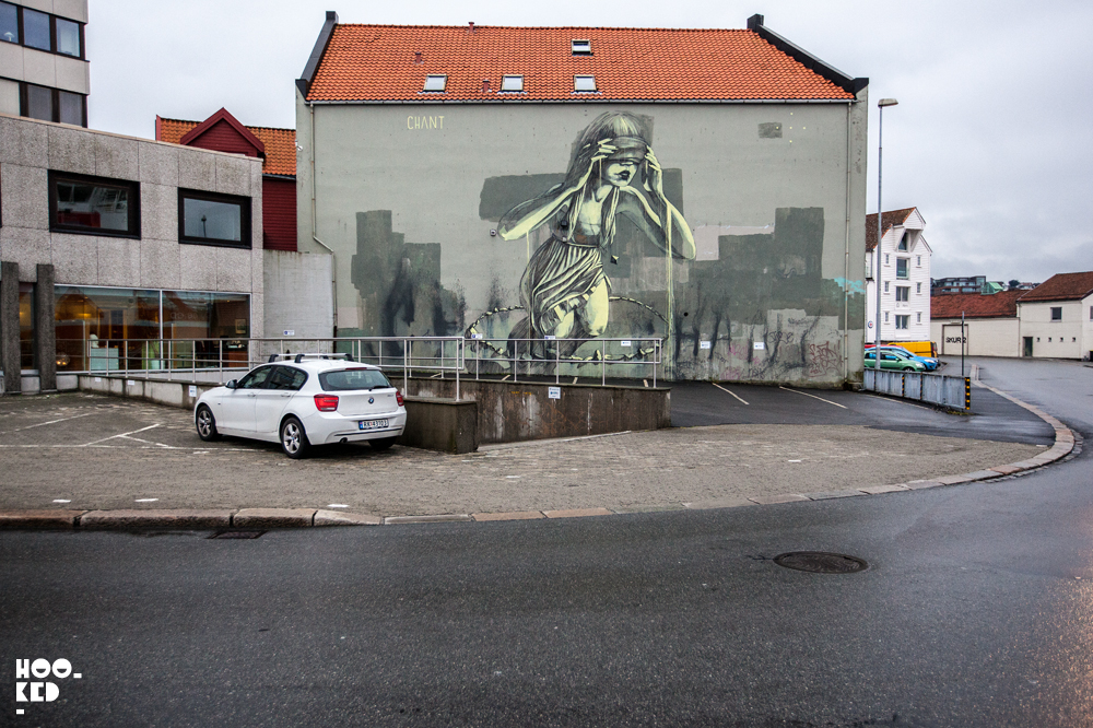 Stavanger Street Art - Street Artist Faith 47 Mural