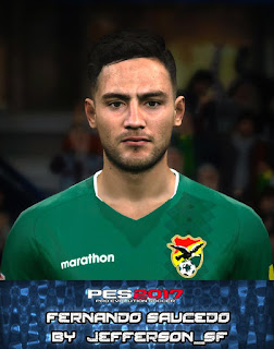 PES 2017 Faces Fernando Saucedo by FaceEditor Jefferson_SF