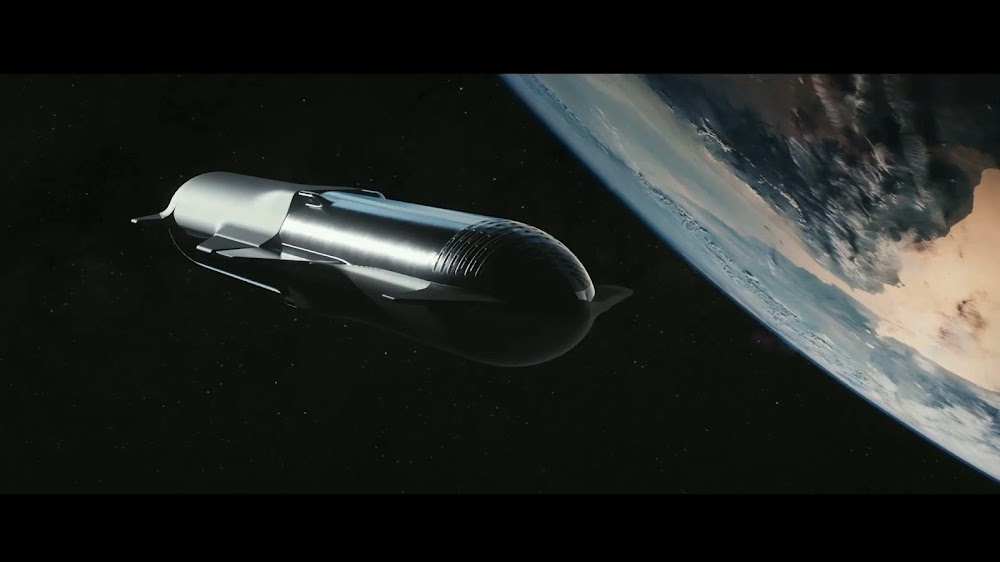 Refilling (refueling) SpaceX's Starship