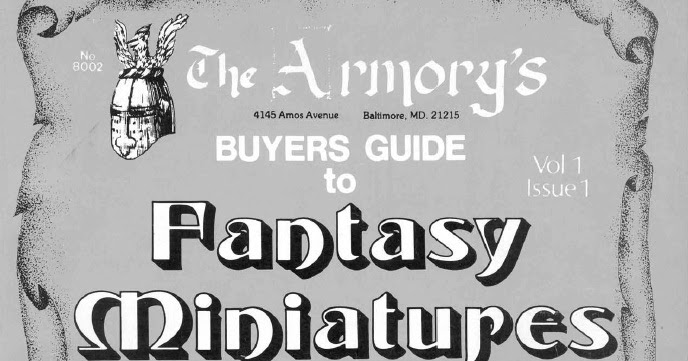 La bibbia delle miniature d'epoca, The Armory's Buyers