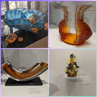 Art glass by Chihuly and others