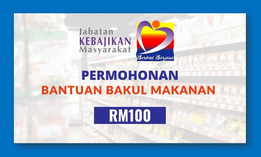 Semakan dan Permohonan bantuan bakul prihatin negara (BPN) RM100 JKM