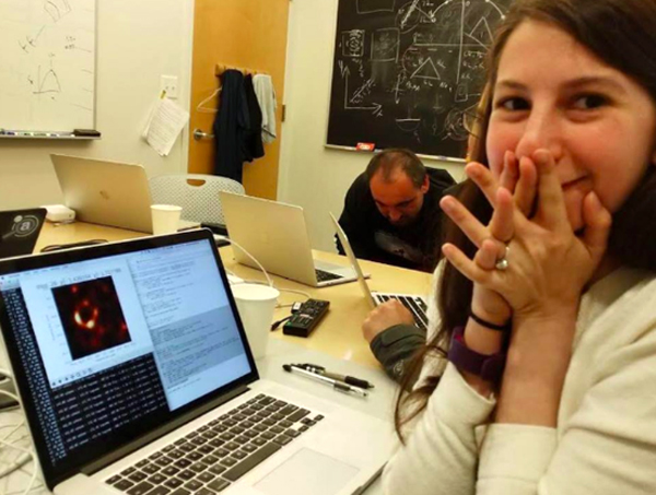Dr. Katie Bouman, a computer scientist at the Massachusetts Institute of Technology, was responsible for creating the computer algorithm that would allow the first-ever photo of a black hole to be made.