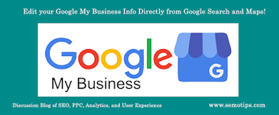 Edit Google My Business Info from Google Search