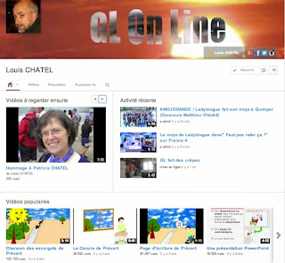 Louis CHATEL sur Youtube