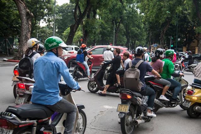 skuter, Azja, ruch drogowy w Azji