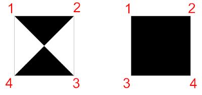cách vẽ hình vuông tô đặc trong autocad