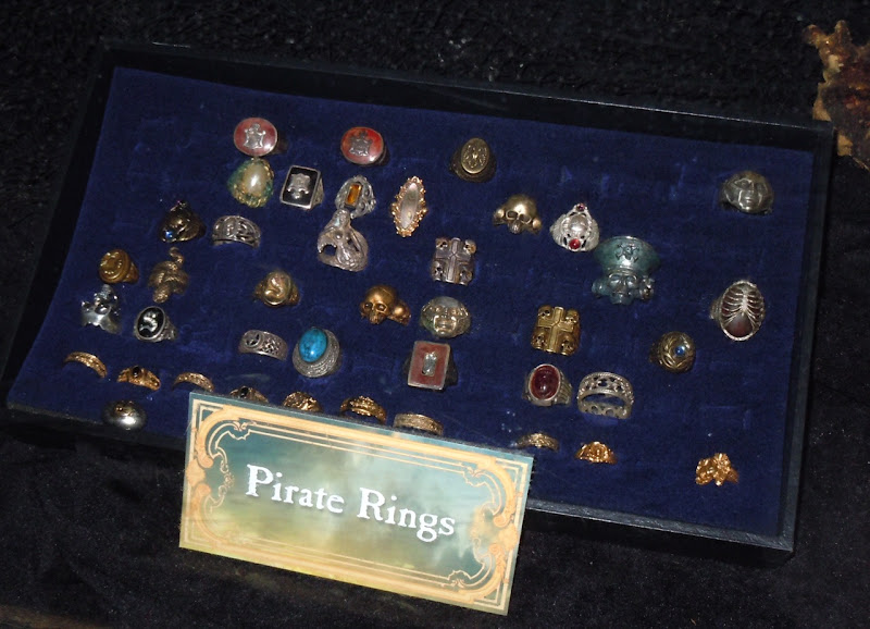 Pirates of the Caribbean rings