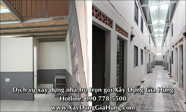 Dịch vụ xây dựng nhà trọ trọn gói tại TpHCM
