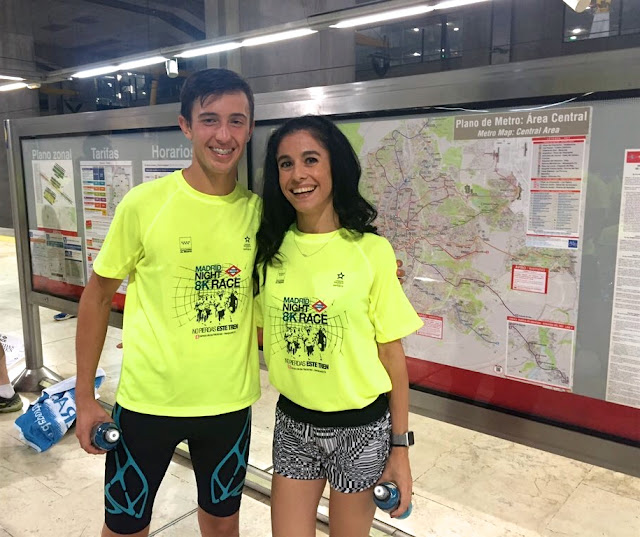 Madrid Metro Night Race, Carrera noctura por las vías del Metro de Madrid