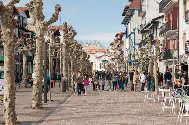 Barrio La Marina Fuenterrabia