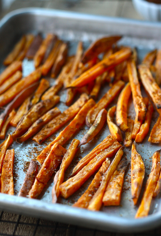 Sweet Potato Fries with Japanese Seven Spice recipe by SeasonWithSpice.com