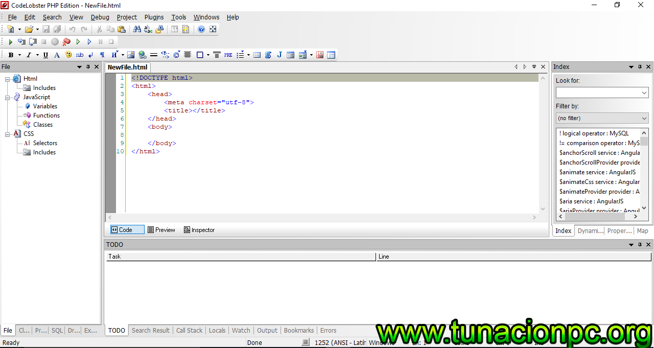 CodeLobster PHP Edition Pro con Licencia