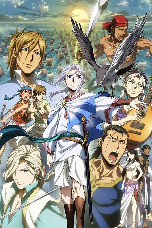 Arslan Senki: Fuujin Ranbu - plakat drugiego sezonu anime