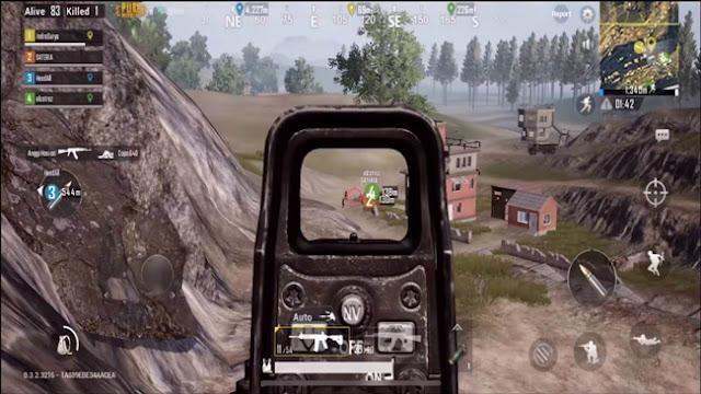 Jangan menembak musuh diluar jangkauan