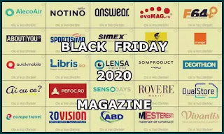 lista magazine black friday 2020 cataloage online cand incepe