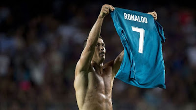 Highlight Barcelona 1-3 Real Madrid, 13 Agustus 2017