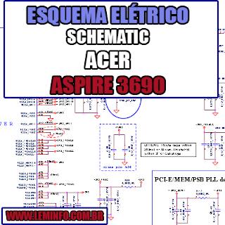 Esquema Elétrico Manual de Serviço Notebook Laptop Placa Mãe Acer Aspire 3690 LA-3081P Schematic Service Manual Diagram Laptop Motherboard Acer Aspire 3690 LA-3081P Esquematico Manual de Servicio Diagrama Electrico Portátil Placa Madre Acer Aspire 3690 LA-3081P