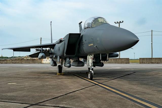 USAF Strike Rodeo F15 JASSM