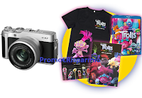 Logo Club del Sole e Universal Pictures : rispondi e vinci gratis Color Music Kit di Trolls