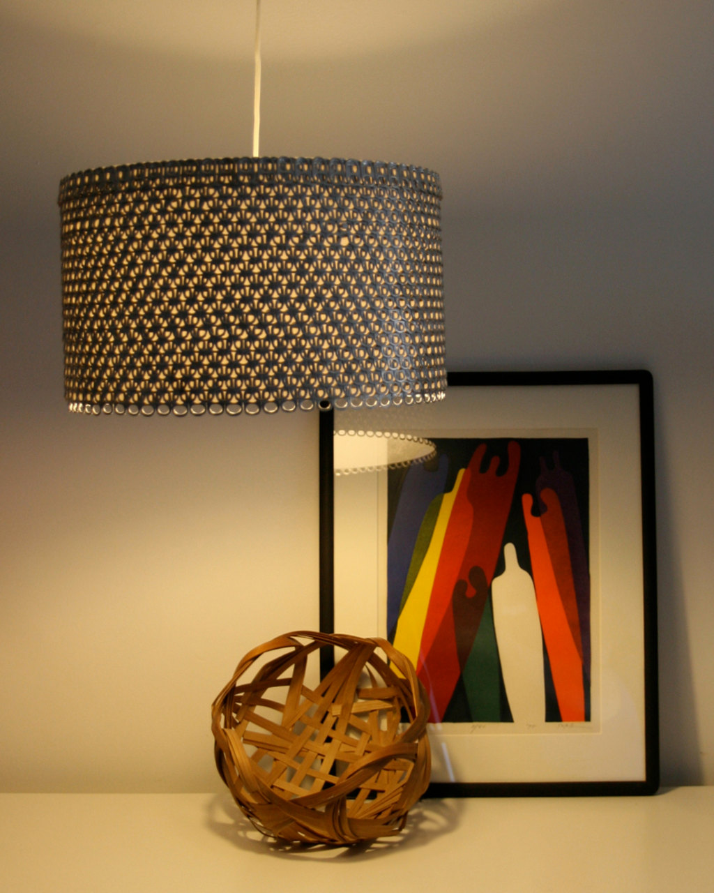 Large Metal Pendant Light