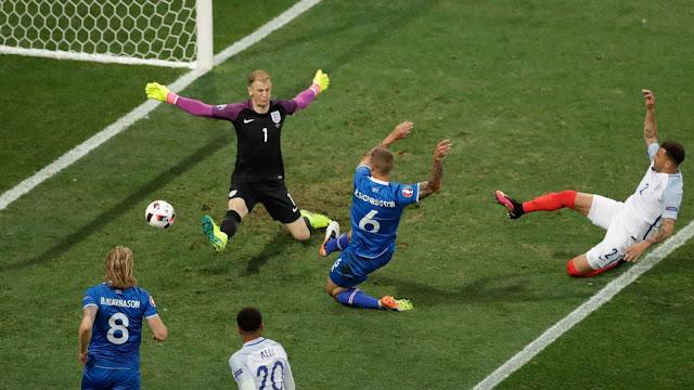 مشاهدة مباراة إنجلترا وأيسلندا بث مباشر