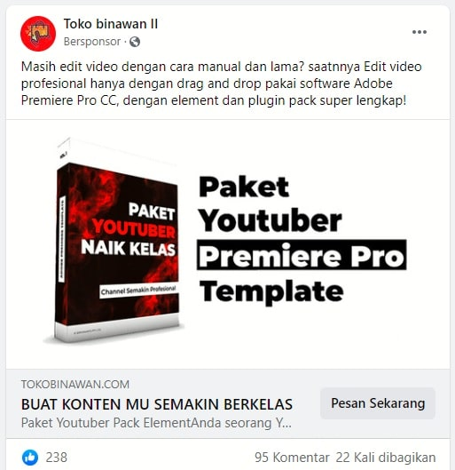 Iklan Digital Facebook